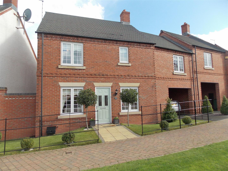 4 Bedrooms Link Detached House for sale in Spitfire Road, Castle Donington